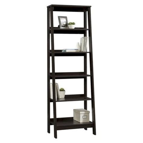 5 shelf trestle espresso bookcases and target on pinterest