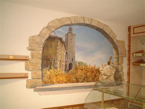 fresque en trompe l oeil pour une boulangerie fresques en trompe l oeil peinture murale