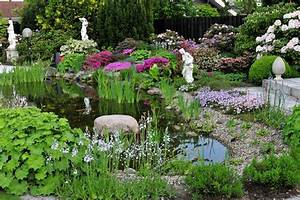 Gartenteich Gestalten Bilder : gartenteich anlegen tipps garten blog ~ Whattoseeinmadrid.com Haus und Dekorationen