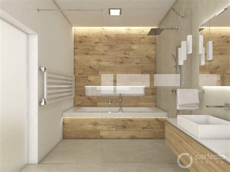 Modernes Bad Beige