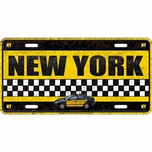 Plaque De Metal : plaque m tal new york ~ Teatrodelosmanantiales.com Idées de Décoration