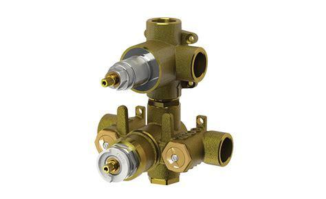 Isenberg Faucet TVH Series thermostatic shower valves