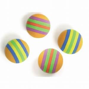 Balle Pour Chat : lot de 4 balles en mousse pour chat balles pour chat karlie wanimo ~ Teatrodelosmanantiales.com Idées de Décoration