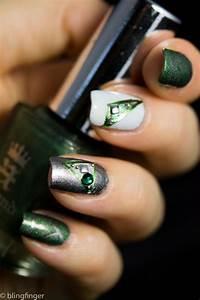 15 emerald green nail designs you can copy fashionsy
