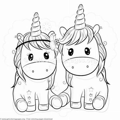 Unicorn Coloring Pages Cartoon Star Getcoloringpages Birthday