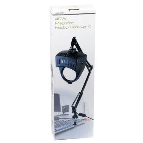 lloytron 40w magnifier hobby desk l magnifying glass