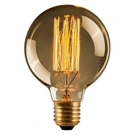edison large globe filament bulb vintage lighting