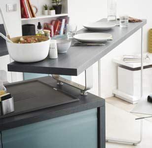 cuisine ouverte 5m2 mobilier modulable et accessoires pratiques