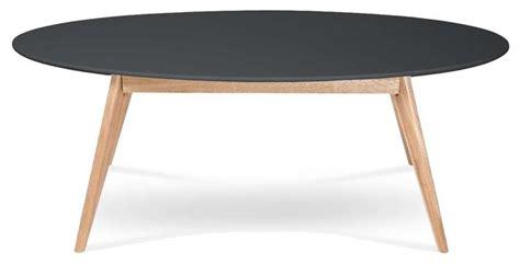 table de cuisine ovale table basse design scandinave ovale skoll couleur noir