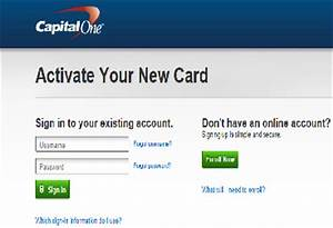 Credit One Sign In  capital one credit card online login cc
