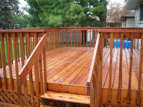 deck staining fence staining kc neighborhood painting