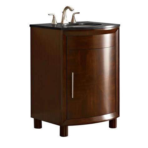 allen roth bathroom vanities canada allen roth arkendale 24 in x 20 5 in russet undermount