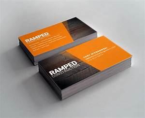 construction business card design inspiration best With creative construction business cards