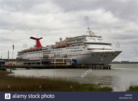 Carnival Cruise Ship U0026quot;Ecstasyu0026quot; Docked In Charleston SC ...