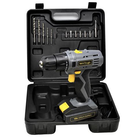 cordless drill screwdriver  speed powerful torque