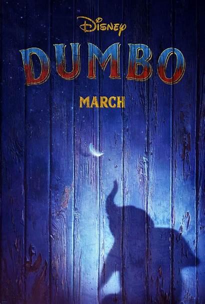 Disney Dumbo Poster Action Walt Movies Debuts