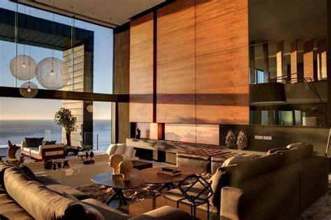 wooden living room designs