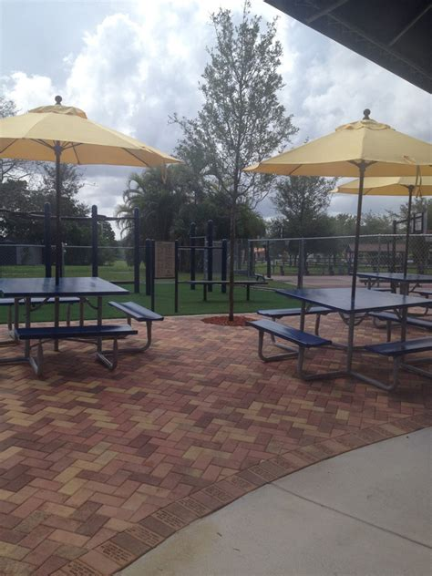 middle school courtyard fitness center information