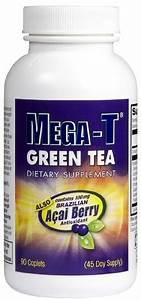 Mega-t Green Tea With Acai Berry Fat Burning Caps