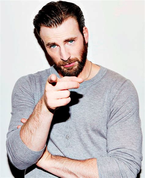 beardedchrisevans YOU WANT HER GO TO HER   Chris evans ...