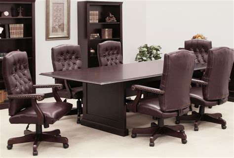 conference table and chairs set conference table and chairs set with traditional mahogany