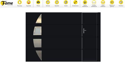 porte de garage fame fame lance configurateur un outil ludique pour dessiner sa porte de garage fame le