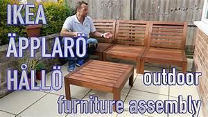 Ikea Gartenmöbel äpplarö : ikea outdoor furniture youtube ~ Watch28wear.com Haus und Dekorationen