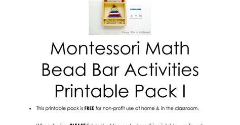 montessori inspired math bead bar printable pack 1 pdf 881   2be648736eec06e850ef608491e4e16a