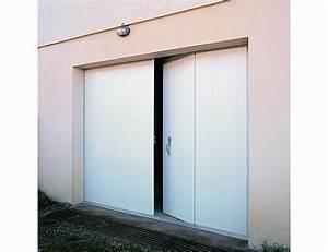 portes interieures avec porte de garage pvc 4 vantaux With porte de garage avec porte d intérieur en pvc
