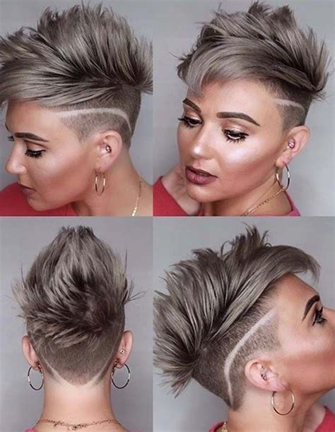 55 Superb Undercut Short Hair Styles to Try in 2019