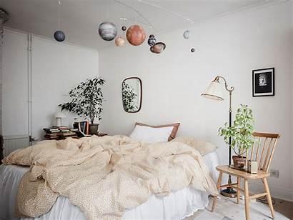 Bohemian Slaapkamer Bedroom Planeten Appartement Touch Cozy