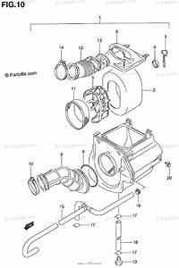 Suzuki Atv 2000 Oem Parts Diagram For Air Cleaner