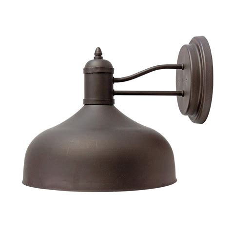 y decor 1 light black outdoor wall mount sconce