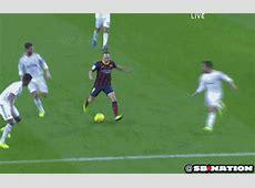 Neymar's 1st ever Clasico goal puts Barcelona ahead