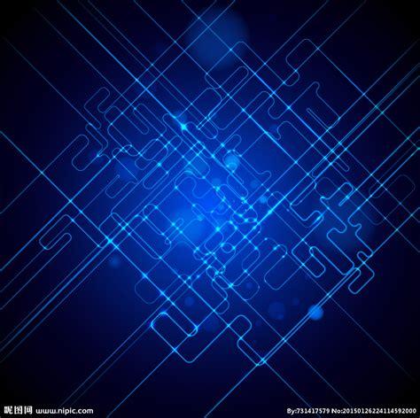 蓝色曲线背景 科技蓝色背景设计图 背景底纹 底纹边框 设计图库 昵图网nipic