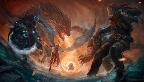 centaurs wings dragon belt creature league  legends