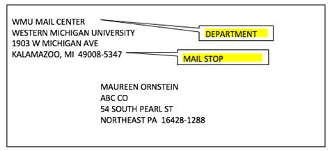 addressing mail logistical services western michigan
