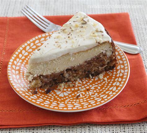 carrot cake cheesecake caramel potatoes 187 carrot cake cheesecake