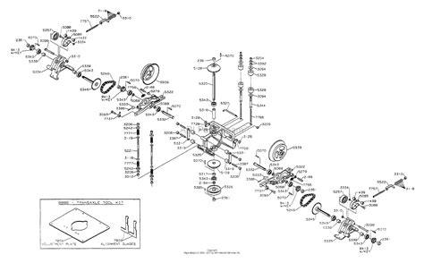 dixon ztr   parts diagram  transaxle