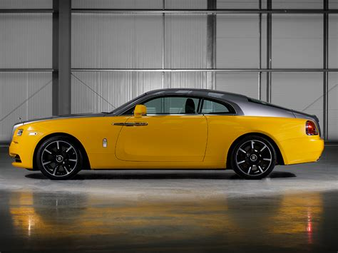 yellow rolls royce the yellow rolls royce reborn in bespoke wraith carscoops