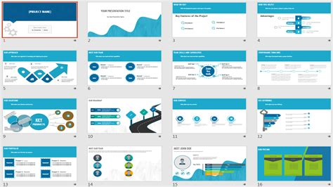 Powerpoint Templates For Project Management