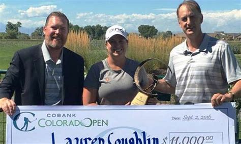 lauren coughlin shatters cobank colorado womens open