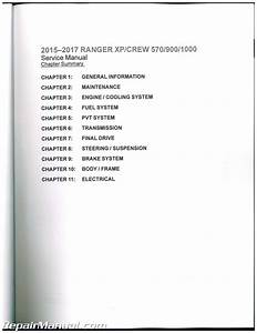 2015 2016 2017 Polaris Ranger Xp Crew Xp570 900 1000 Side