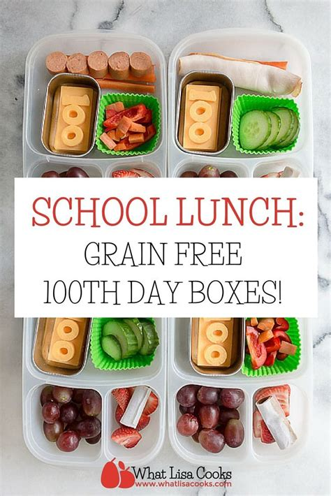 easy cing lunch ideas school lunch day 100 a gluten free snack box gluten free snacks 100th day of school and