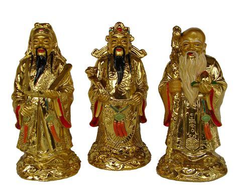 Three Gods: Fuk God, Luk God, Sau God