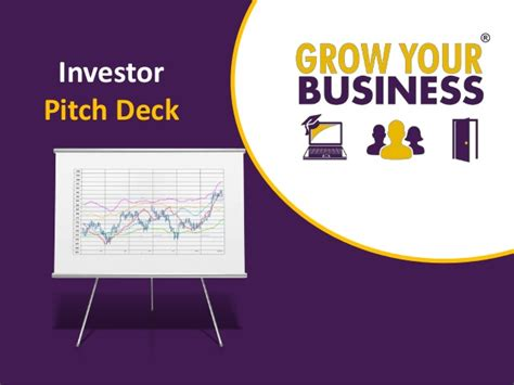 investor pitch deck template for business plan start up
