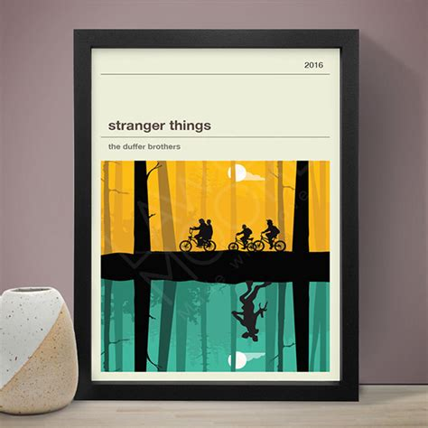 STRANGER THINGS (Y&G) Poster - Law & Moore