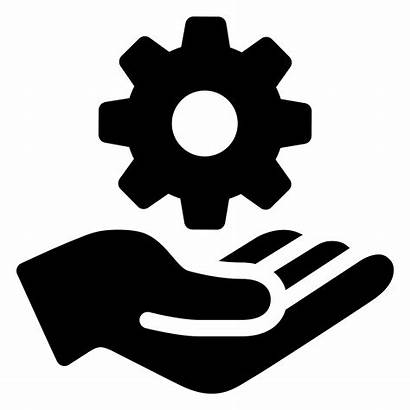 Icon Icons Maintenance Services Gear Clip Computer