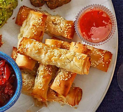 thai turkey filo dippers recipe filo pastry filo and rolls