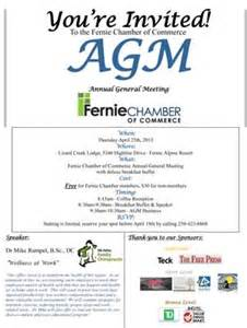 wedding invitations cost fernie chamber of commerce agm fernie chamber
